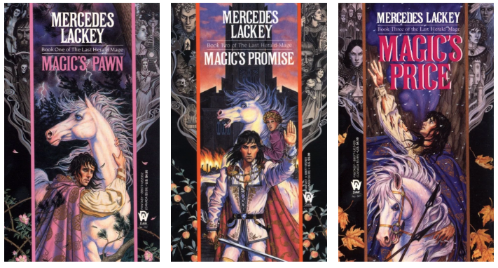 The Last Herald Mage trilogy book covers